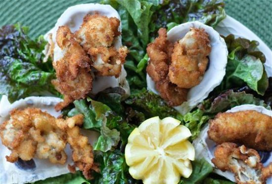 Lemon Leaf Cafe : fried oysters