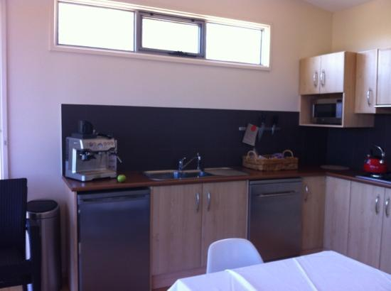 Barossa Pavilions: kitchen stocked with everything you could need