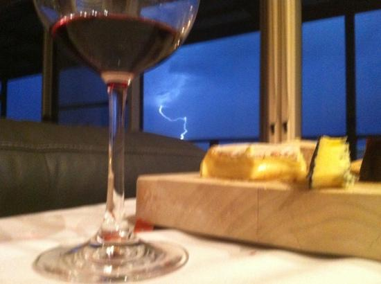 Barossa Pavilions: great place to watch a storm roll in