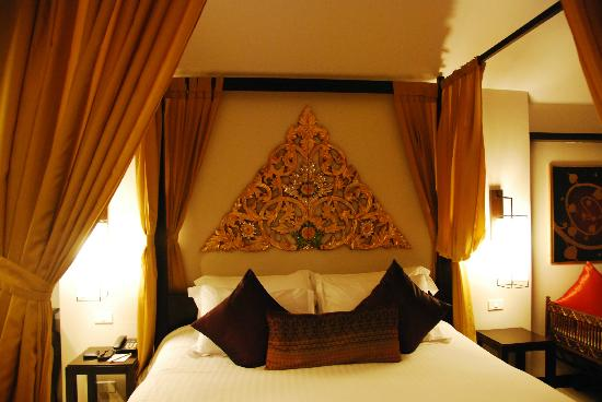 Burasari Resort: Beautiful and comfortable bed