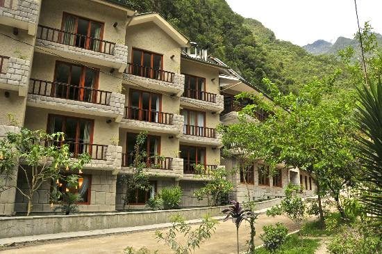 SUMAQ Machu Picchu Hotel: Front of the hotel