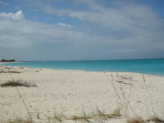The Meridian Club Turks & Caicos: completely empty beach!