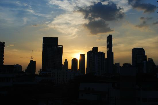 ETZzz Hostel: Sunset from the rooftop