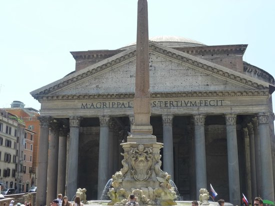 Pantheon fachada