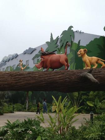 Disney's Art of Animation Resort: The Lion King exterior/grounds