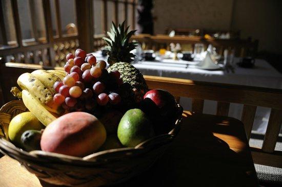 Maison Fortaleza: breakfast