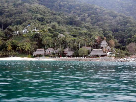 Costa Sur Resort & Spa : secluded get away on way to Yelapa