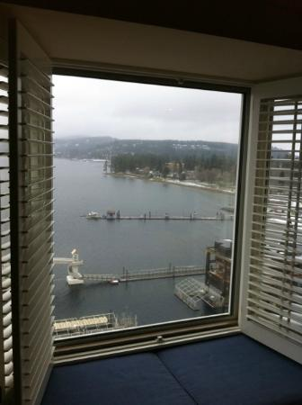 The Coeur d'Alene Resort: Other view from 1558
