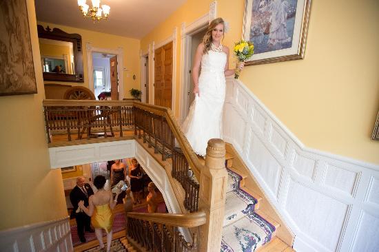 Les Trois Erables: staircase