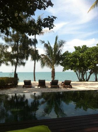 W Koh Samui: Peaceful, and quiet beach