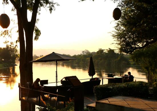 U Inchantree Kanchanaburi: By the river