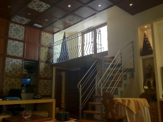Abbazia Deluxe: Interno hotel