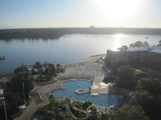 Disney's Contemporary Resort: View of Bay