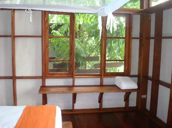 Jicaro Island Ecolodge Granada: upstairs in the casita