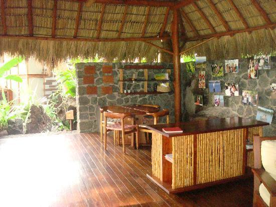 Jicaro Island Ecolodge Granada: game/common area