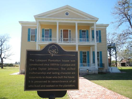 Lake Village, Арканзас: Lakeport Plantation