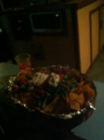 Bourbon Beach: Huge nachos