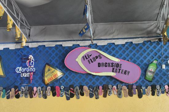 Flip Flops Dockside Eatery: Flips and Flops
