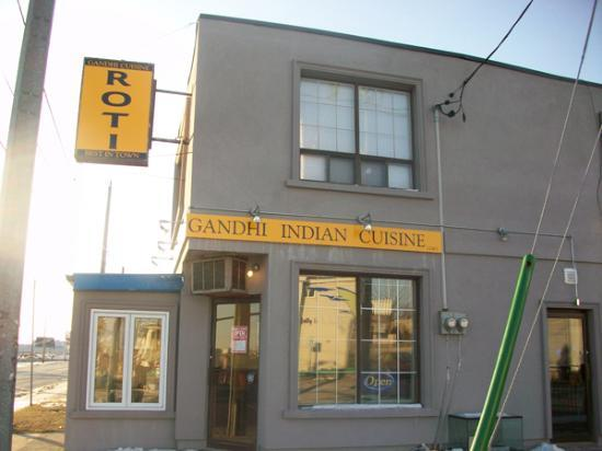 Photo of Indian Restaurant Gandhii Cuisine at 554 Queen St W, Toronto M5V 2B5, Canada