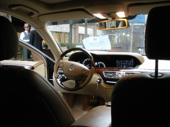 Gardens NYC–an Affinia hotel: The cab that the hotel provides upon your request, very nice cab driver