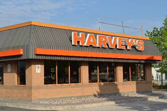 Harvey's Serving Swiss Chalet