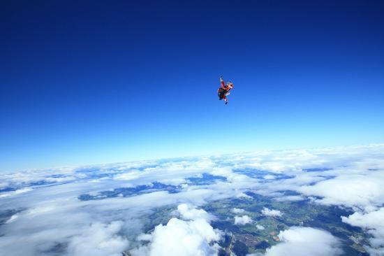 Skydive Abel Tasman: Free Fall