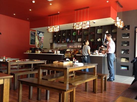 Sakura Inn: restaurant