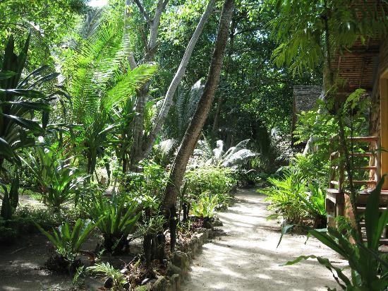 Sanbis Resort: Walkway