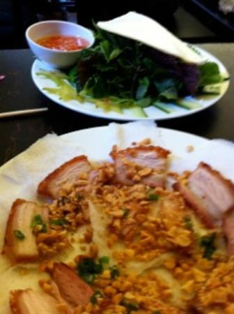 Quan An Ngon Rice Paper Rolls With Bbq Pork Belly Rice Noodles The