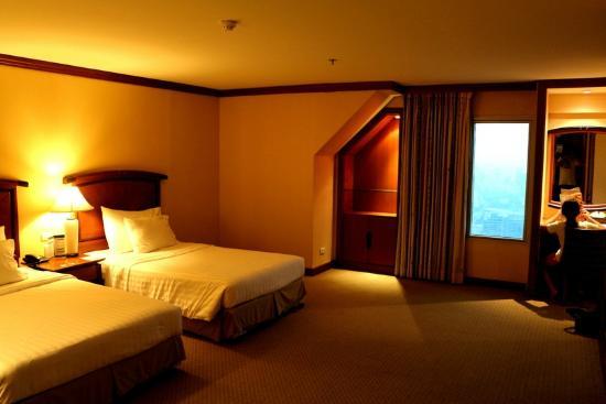 Baiyoke Sky Hotel: Comfy...
