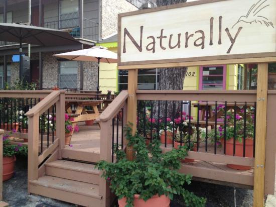 Naturally Cafe: Naturally's Deck