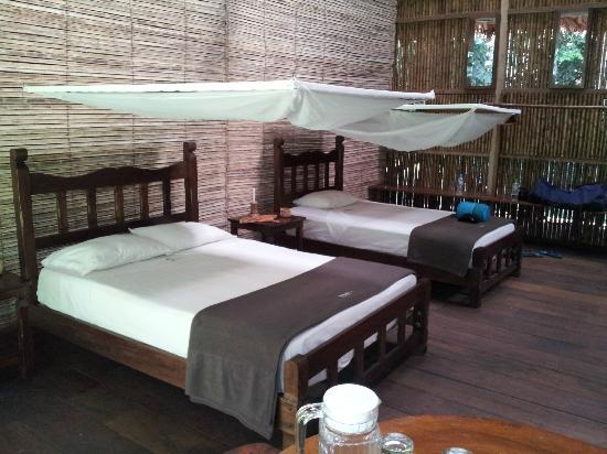 Refugio Amazonas: Our room
