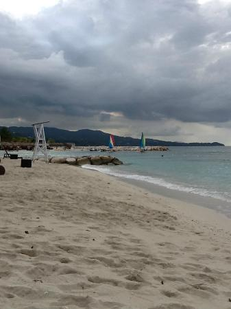 Secrets St. James Montego Bay: Beach front