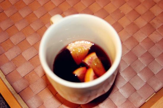 Bed and Breakfast Zeevat: hot wine Jan made~