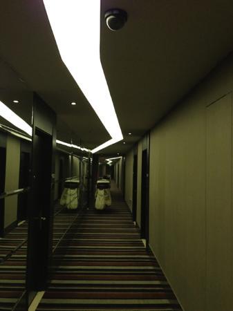 Crystal Orange Hotel Beijing Anzhen: 廊下