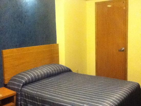 Hotel Roble: 1 de las camas
