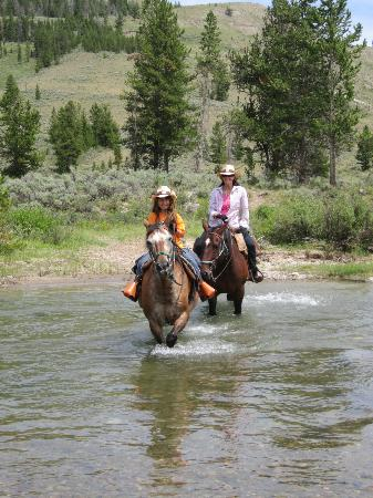 Nine Quarter Circle Ranch: a typical awesome trail ride