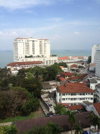 Cititel Penang: View from Room (Agnes-Dec 2012)