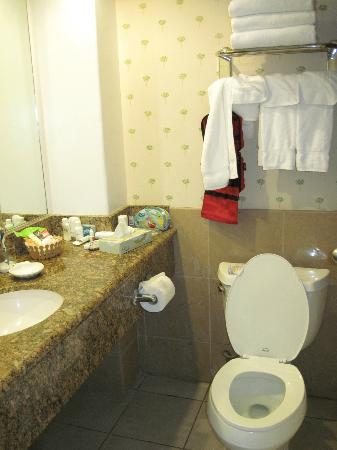 Aqua Palms Waikiki : Bathrooms are small but well equipped