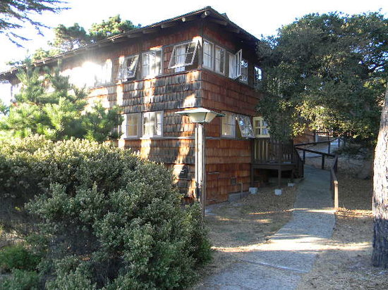 Asilomar Conference Grounds: Pirates Den in the late afternoon