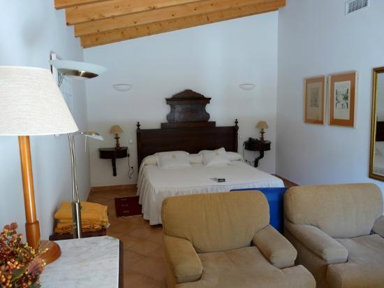 Finca Hotel Son Palou: Our room at Son palou