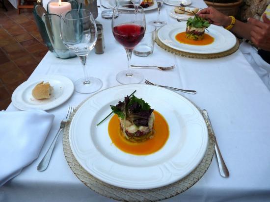 Finca Hotel Son Palou: Example of food at Son Palou
