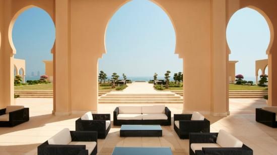 The St. Regis Doha: Outdoor Terrace