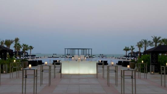 The St. Regis Doha: Terrace