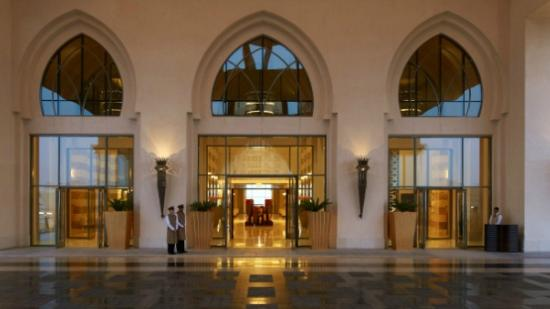 The St. Regis Doha: Hotel Entrance