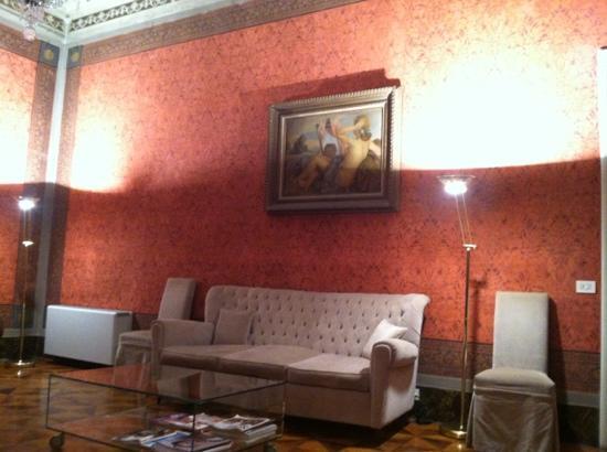 Hotel Orto De Medici: lounge area