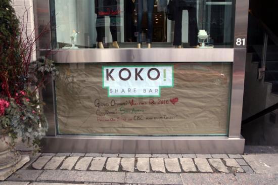 KOKO! Share Bar Photo