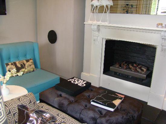 The Stirling Hotel: Gas Fire for winter