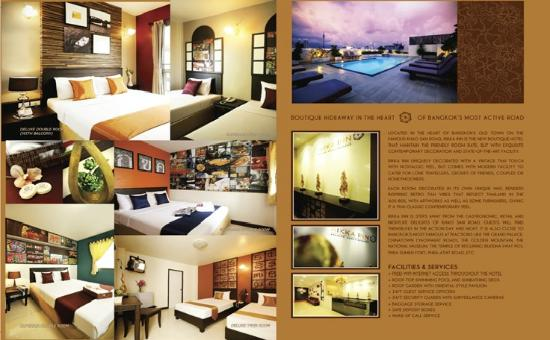 Rikka Inn: Pool & hotel rooms.