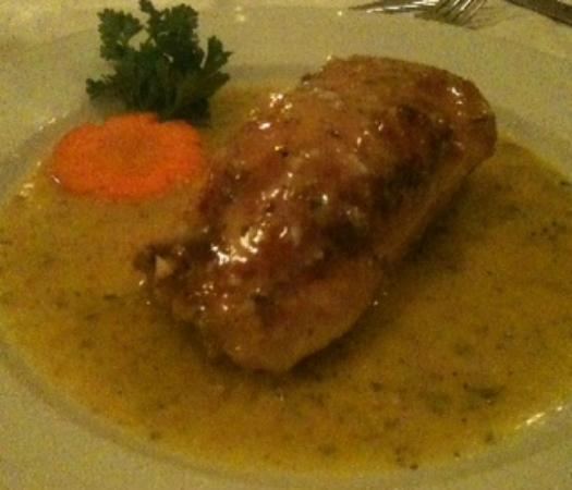 Angelo's : Crab stuffed chicken breast